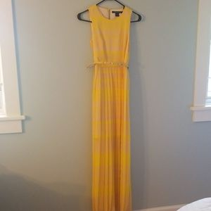 Stunning French Connection pleated maxi